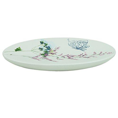 Bacova Guild Indigo Wildflower Soap Dish