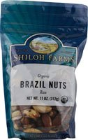 Shiloh Farms Organic Brazil Nuts Raw -- 11 oz