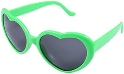 FBrand Fashion Large Heart Shaped Retro Sunglasses
