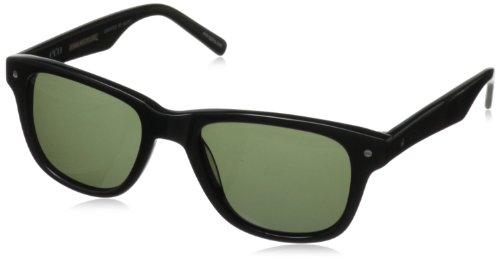 eco Dallas Aviator Sunglasses, Black, 51 mm by EcoPure
