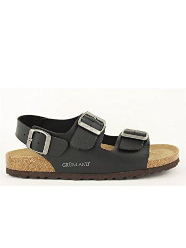 GRUNLAND - Sandalias de vestir para hombre negro
