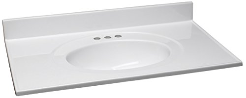 "Design House 552042 Cultured Marble Vanity Top 37"", for sale  Delivered anywhere in Canada"