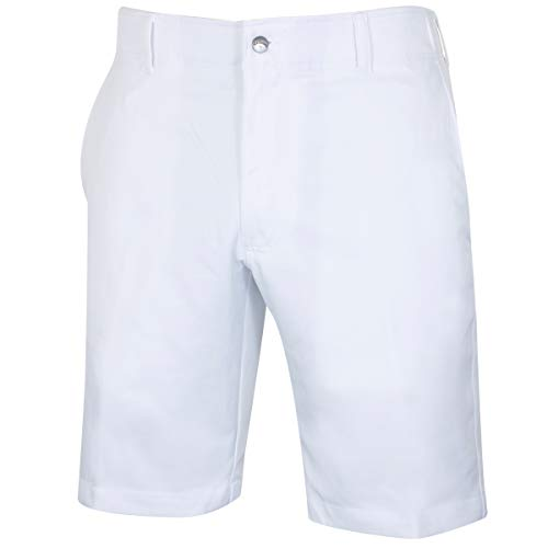 Callaway Golf 2019 Mens Chev Tech II Stretch Lightweight Golf Shorts White 34