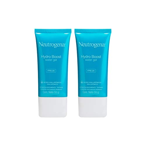 Kit: 2 Gel Hidratante Facial Neutrogena Hydro Boost Water FPS 25 55g