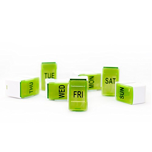 durable service Mosafer Days of the Week Pill Box