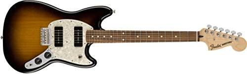 Fender Limited Edition Mustang 90 Electric Guitar with Pau Ferro Fingerboard 2-Color (Fender Front Bolt)