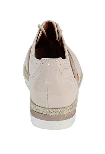 By Shoes - Zapatos de cordones para Mujer Beige