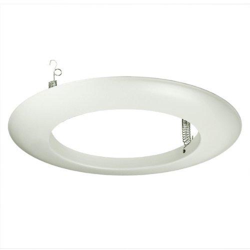 6 in. - White Open Trim - PLT PT40