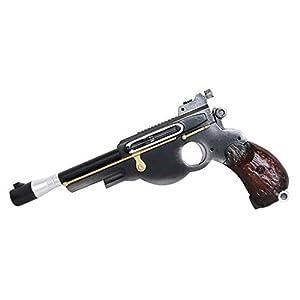 Bulex Star Wars Mandalorian Gun, Resin Pistol Toys Classic Replica Gun Kit Halloween Props for Men Women Girls Boys Kids Children