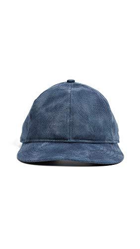 New Era Men's Dyed Oxford Packable 9Twenty Baseball Hat, Navy, Blue, One Size