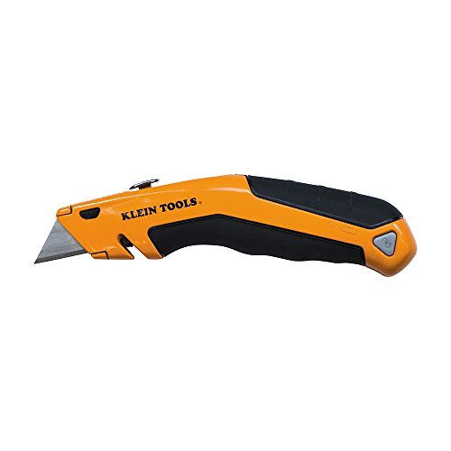 Heavy Duty Utility Knife, Retractable, Adjustable, with Wire Stripper,...