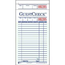 Guestcheck Board - 1Part, Green, 19 Line, 3.5 X 6.75 Inch, 50 Checks Per Book - 2500 Per Case.