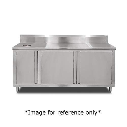 John Boos 4BU4R5-3648-R Beverage Unit Cabinet Base with Hinged Doors 48