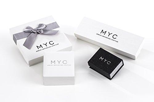 MyC Paris–Juego Chance plateada–femmes- cristales Swarovski Elements