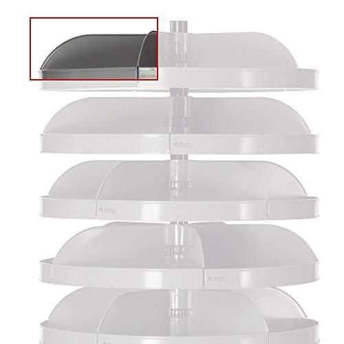 Rotabin Revolving Shelves - Durham 1241-95 Additional Steel Divider, 4-3/4