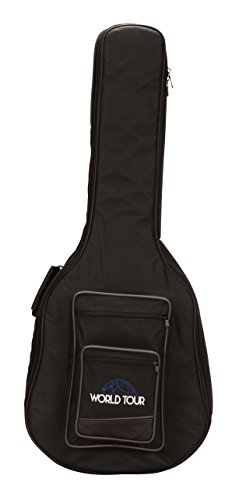 World Tour Deluxe 20mm Dreadnought Acoustic Guitar Gig Bag ()