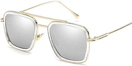 Superlight unisex gafas de sol polarizadas, hombres y gafas de sol de gran tamaño vendimia de las mujeres el 100% de protección UV (Color: Ceniza 1, tamaño: Tamaño libre)