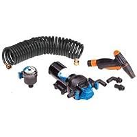 Jabsco 82906-0092 HotShot Series Automatic Washdown Pump w/25039; HoseCoil - 6.0GPM - 70psi - 12VDC