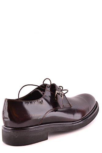 DANIELE ALESSANDRINI Zapatos de Cordones Para Hombre Marrón Marrón It - Marke Größe