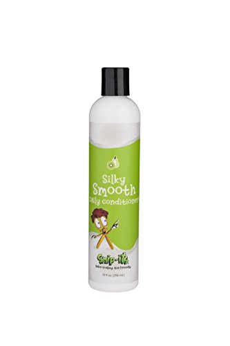 (Snip-its Silky Smooth Kids Conditioning Rinse (Kiwi Pear, 10 oz Bottle) - Natural Botanical Extracts - Cruelty-Free - Renewable Sources, Made in the USA)