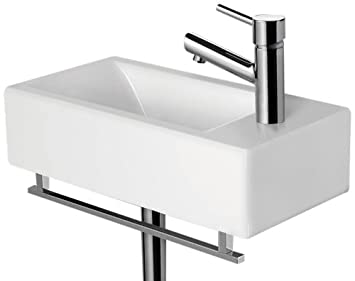 Wall Mounted Sink Faucets Inspirational Belvidere Porcelain Wall Mount  Bathroom Sink Bathroom
