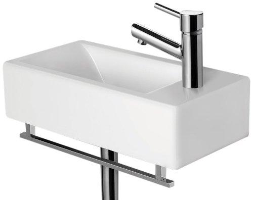 Alfi Brand Ab108 Modern Rectangular Wall Mounted Bathroom Sink