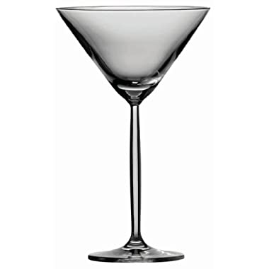 Schott Zwiesel Tritan Crystal Glass Diva Stemware Collection Cocktail/Martini Glass, 8.4-Ounce, Set of 6