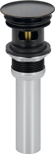 Delta Faucet 72173-RB Push Pop-Up with Overflow, Venetian Bronze by DELTA FAUCET