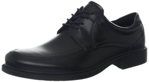 ECCO Men's Dublin Apron Toe Tie Oxford,Black,46 EU/12-12.5 M (Apron Toe Tie Oxford)