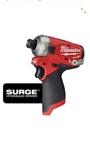 Milwaukee 2551-20 M12 FUEL SURGE 12-Volt Lithium-Ion Brushless Cordless 1/4 in. Hex Impact Driver (Tool-Only)