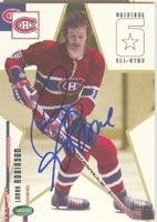 Card Autographed Original 6 - Larry Robinson Montreal Canadiens 2004 Parkhurst Original 6 Autographed Card. This item comes with a certificate of authenticity from Autograph-Sports. Autographed