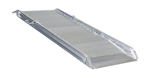"Vestil AWR-28-6A Aluminum Walk Ramp Overlap Style, 2800 lb, 72"" Length, 28"" Width, 4.75"" Height"