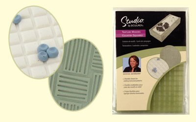 Sculpey Texture Makers -Country Squares