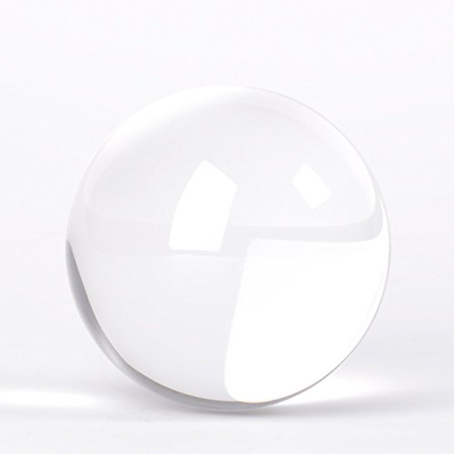 Original Lensball Pro 80mm, K9 Crystal Ball with Microfiber Pouch, Photography Accessory