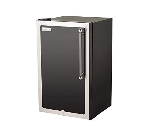 Fire Magic 20-inch 4.0 Cu. Ft. Echelon Black Diamond Left Hinge Compact Refrigerator - Black - 3598h-dl (Magic Fire Refrigerator)