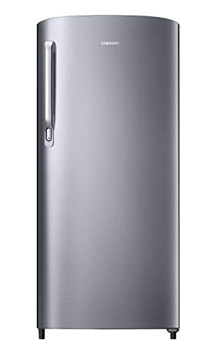Samsung 192 L 2 Star Direct Cool Single Door Refrigerator (RR19A241BGS/NL, Gray Silver)