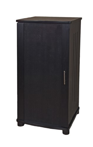 Plateau LSX-A 52 B 52-Inch Wood Audio Stand, Tall, Black Oak (Plateau Decor Series)