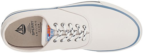 Sperry Top-sider Mens Captains Cvo Nautische Sneaker Wit