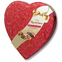 Russell Stover Pecan Delight Satin Heart, 8 oz.