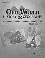 Abeka Grade 5 Old World History and Geography Quiz for sale  Delivered anywhere in USA