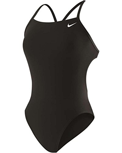 Nike Swim Poly Core Cut Out - Black - Piece 30 One