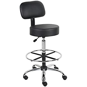 amazon com boss office products b16245 bk be well medical spa