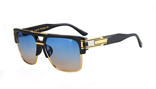 Star Style Sunglasses Retro Polarized Rectangular - Electric Code Discount Sunglasses