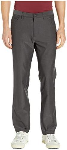 [adidas(アディダス)] メンズパンツ・長ズボン・ジャージ下 Ultimate Heather Five-Pocket Pants Black Heather 35 (W: 89cm) 30 [並行輸入品]