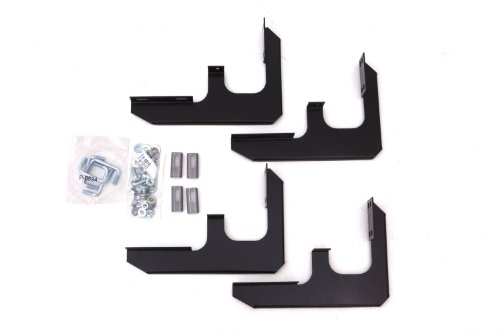 Lund 318088 Tube Step Running Board Brackets for 2009-2016 Chevrolet Traverse; 2008-2016 GMC Acadia; 2017-2018 Acadia Limited (Excludes Denali)