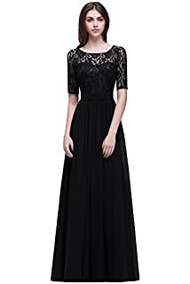 Misshow Womens Lace Chiffon Evening Cocktail Dresses Sleeves For Bridesmaid Babyonline