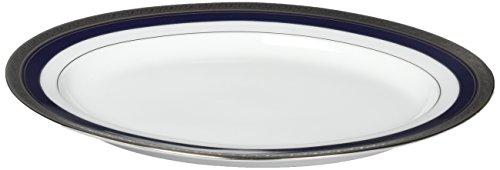 Crestwood Platinum (Noritake Crestwood Cobalt Platinum 12-Inch Oval Platter)