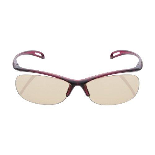 Elecom Blue Light measures Glasses PC GLASSES (65% cut) (rimless type Wine Red) - Wine Og