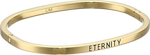 Calvin Klein Womens Hook - Eternity Closed Bangle Bracelet Gold SM One (Gold Eternity Bangle)