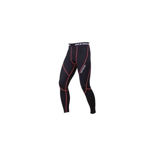 Komine PKL-123 COOL COMPRESSION UNDERPANTS BLK / ORG M 03-123 by Komine (Image #1)